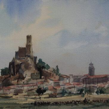 C.01.010'Almansa. Rebaño de cabras'.Almansa (Albacete)-23x31