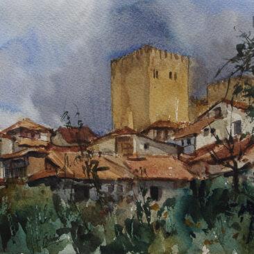 C.01.021'Medina de Pomar. Las Torres de los Velasco'.Medina de Pomar(Burgos)8-199924,5x32 Museo de la Ferias de Medina del Campo